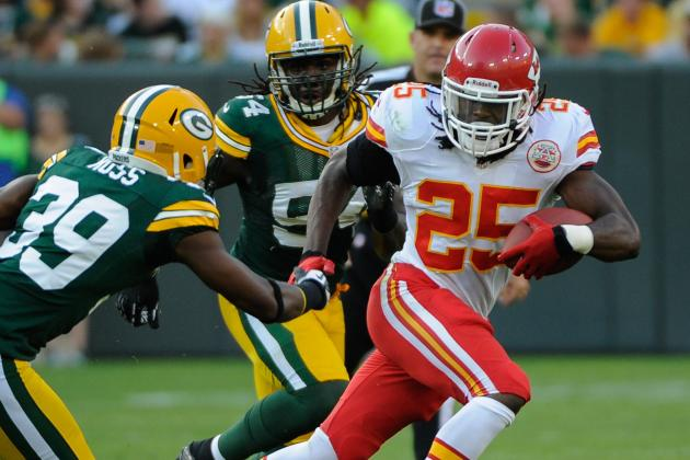 Kansas City Chiefs: Jamaal Charles and Peyton Hillis Key vs. Atlanta Falcons