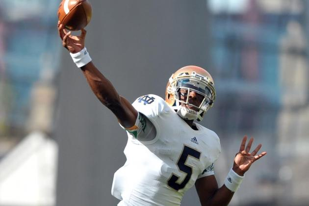 How Notre Dame QB Everett Golson Can Build Toward Week 2 and Avoid Failure
