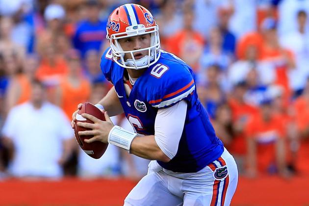 Florida Football: It's Too Early to Get Down on Gators Starting QB Jeff Driskel