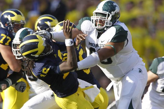 Michigan State Players Go off on Denard After Loss to Alabama