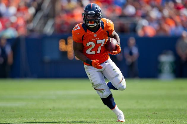 Denver Broncos: Knowshon Moreno Reclaims Backup Job, Ronnie Hillman Struggles