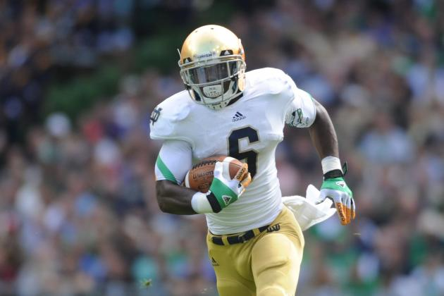 Notre Dame Football: Why Theo Riddick Is Irish's Most Important Player vs Purdue