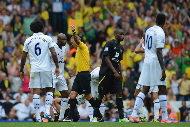 Tottenham Hotspur News: Tom Huddlestone Red Card Overturned