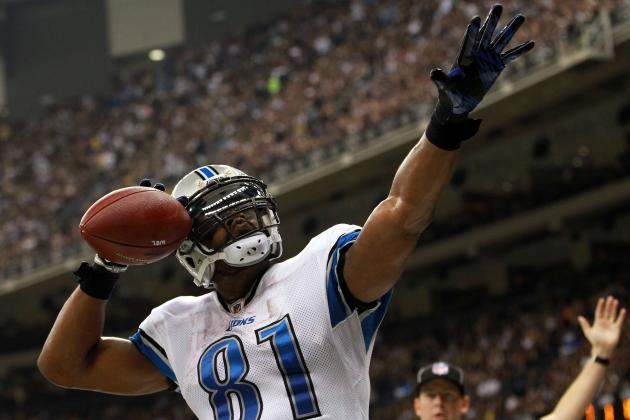 Fantasy Football 2012 Week 1 Rankings: Top 50 Wide Receivers