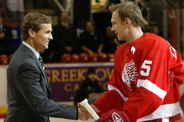Steve Yzerman, Nick Lidstrom Make NHL.com's Top-10 Captains List