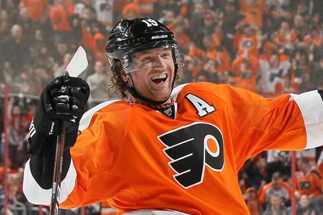 Philadelphia Flyers: Why Scott Hartnell Is Better Long Term Than Wayne Simmonds