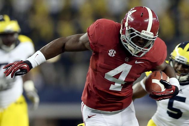T.J. Yeldon: Analyzing Alabama Crimson Tide Breakout Freshman RB