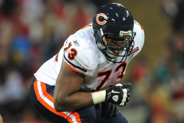 Chicago Bears Name J'Marcus Webb the Starting Left Tackle