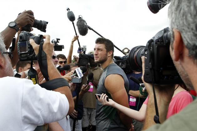 Tim Tebow Was Framed in Preseason but the Real Framing Is About to Begin