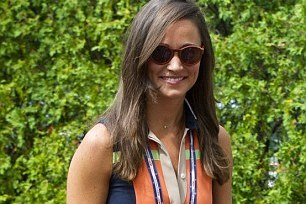 Pippa Middleton Accepts Roger Federer Invite, Creates Quite the Stir at US Open