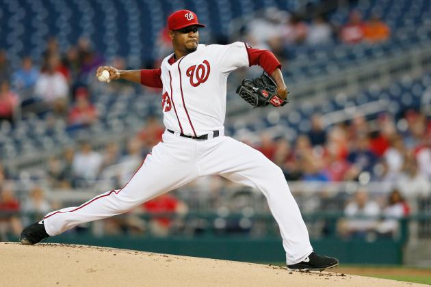 Edwin Jackson and Ross Detwiler Can Silentely Replace Stephen Strasburg