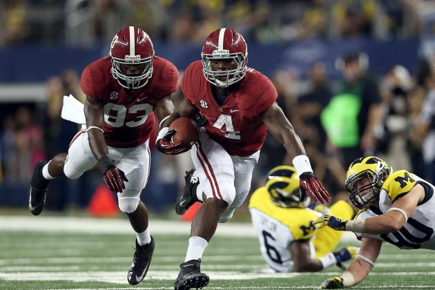 Alabama Football:  How Long Until T.J. Yeldon Is the Feature Back?