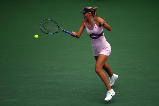 US Open Tennis 2012: Maria Sharapova Will Advance After Facing Early Deficit