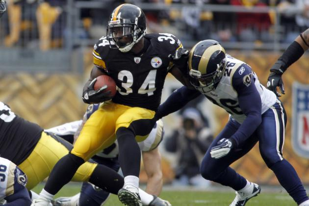 Rashard Mendenhall: Steelers' Offensive Success Rests on Running Back's Health