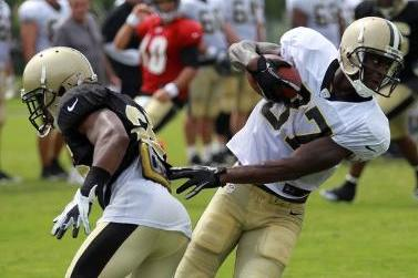 New Orleans Saints WR Adrian Arrington Not 100 Percent, Practicing Anyway
