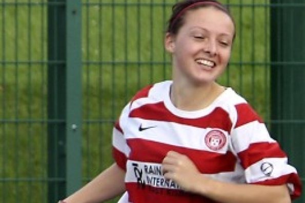 Sarah Crilly: Scottish National Team Picks Girl from Stands Who Then Scores Goal