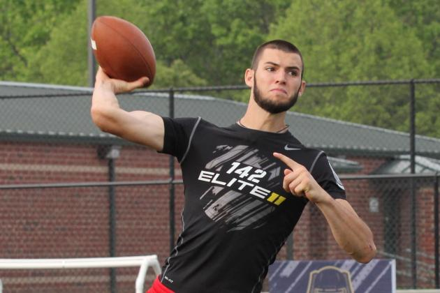 Will Grier: 4-Star QB High on Florida Gators but Are They Really His Best Bet?