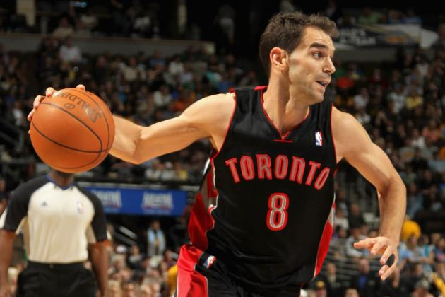 Why Toronto Raptors Can't Pair Jose Calderon with Kyle Lowry for Long