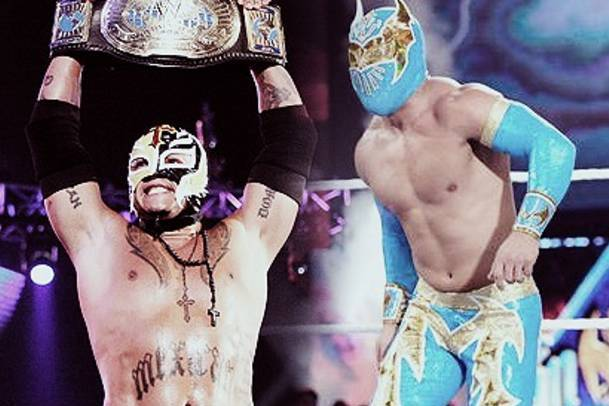 WWE: Rey Mysterio Team with Sin Cara Guarantees the Two Fight at WrestleMania