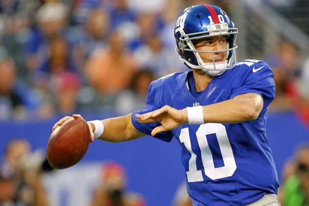 NFL Week 1 Picks: New York Giants Begin Title Defense