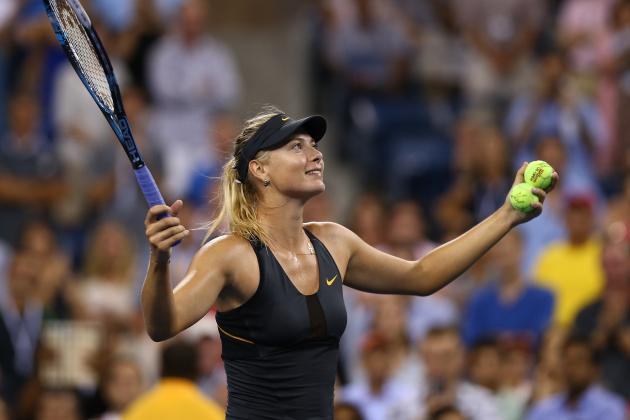 Maria Sharapova Defeats Maria Bartoli, Advances to 2012 US Open Semifinals