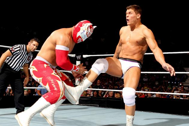 WWE: Cody Rhodes vs. Sin Cara Will Never Compare to Cody Rhodes vs. Rey Mysterio