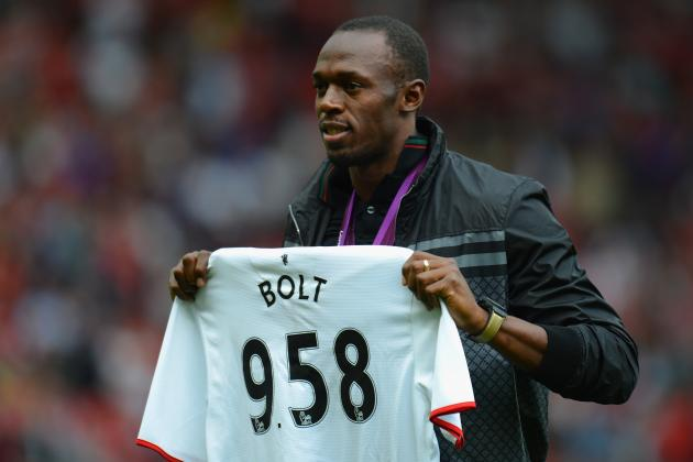 Manchester United: Usain Bolt to Play in Charity Match for Red Devils?