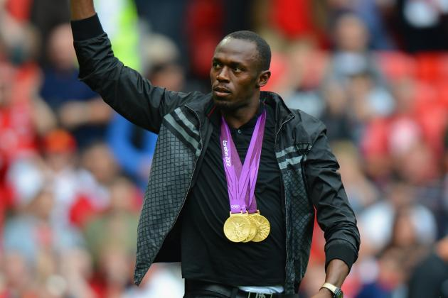 Usain Bolt May Be a Manchester United Player in the Very Near Future