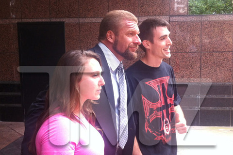 WWE: Triple H Cuts Off His Trademark Long Locks