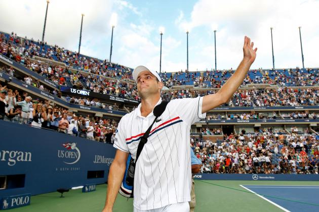 Juan Martin del Potro vs. Andy Roddick: American Icon Bows out with Grace