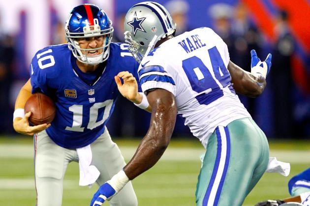 Dallas Cowboys vs New York Giants: Live Score, Highlights and Analysis