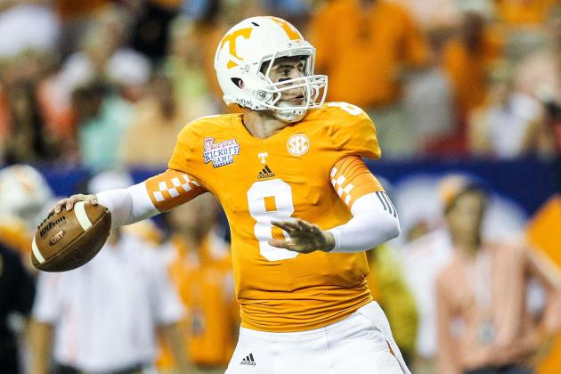 Tyler Bray Scouting Report: Breaking Down the Tennessee Quarterback