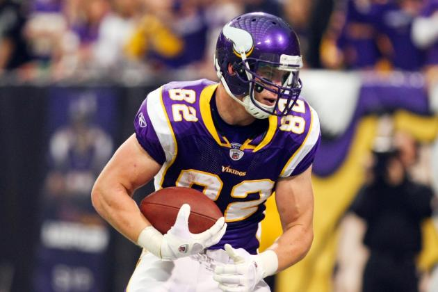 2012 Fantasy Football: Sleeper Tight Ends You Can Steal off Waivers