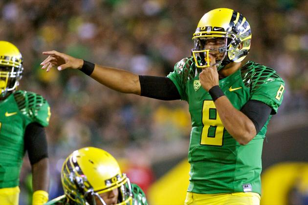 Oregon Ducks: Marcus Mariota Perfect QB to Represent Oregon's National Brand
