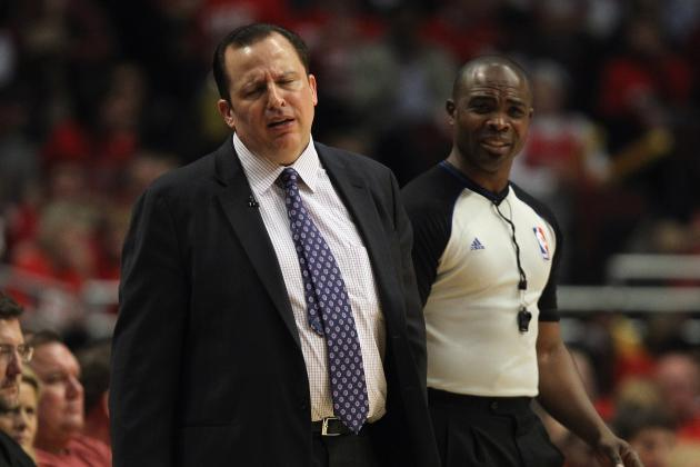 Chicago Bulls Must Strike Deal with Tom Thibodeau in New Round of Contract Talks