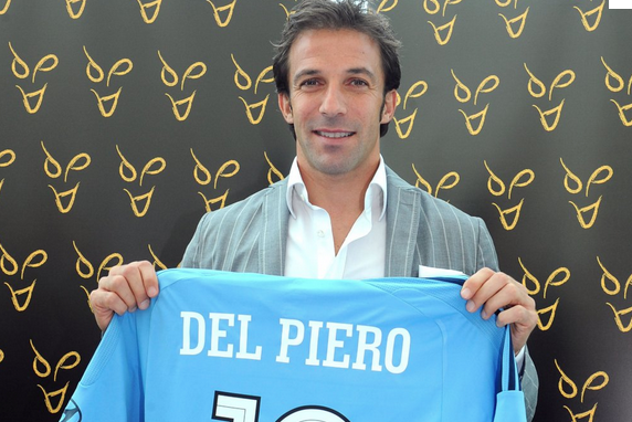 Alessandro Del Piero Invited to Play the Beckham Role for Australian Football