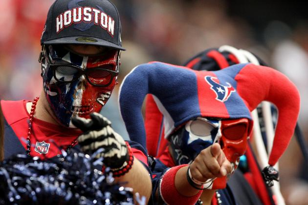 Media Love the Texans, but the Numbers Don't and Other AFC South Stories