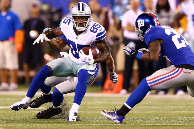Fantasy Football: Kevin Ogletree Leads Revelations from Cowboys-Giants Opener