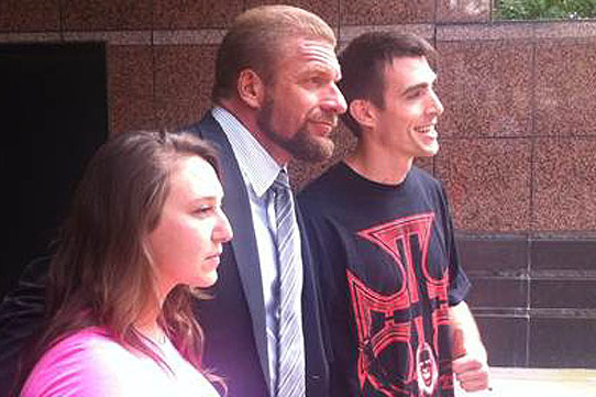 Triple H Has Shaved His Glorious Mane