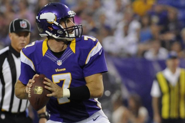 Christian Ponder Meets Fellow Overlooked QB Blaine Gabbert & More NFC North News
