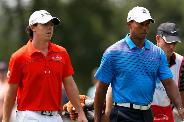 Tiger Woods at BMW Championship 2012 Tracker: Day 1 Highlights, Updates and More