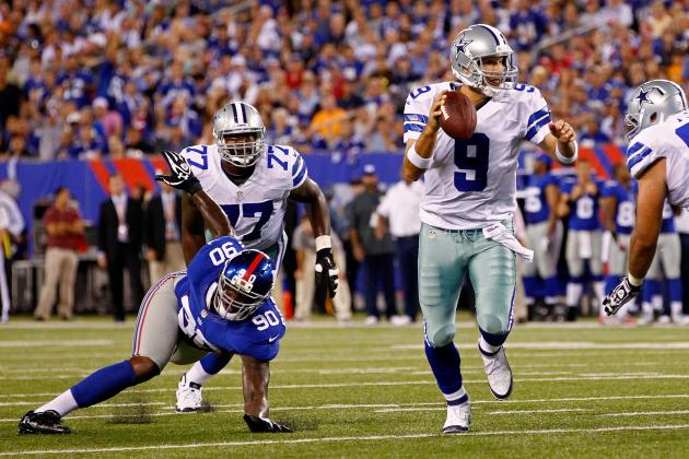 Cowboys vs. Giants: What Tony Romo's Sizzling Start Means for Cowboys
