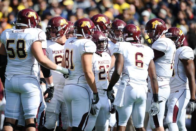 Freshman tackle grows into role with Gophers