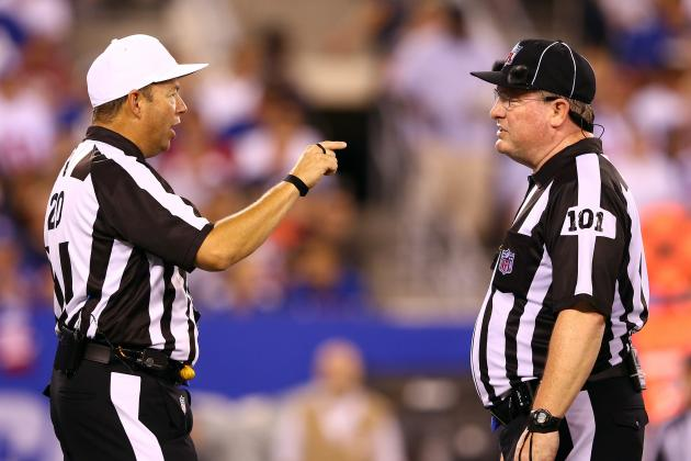 NFL's Replacement Officials Avoid Spotlight in Season Opener
