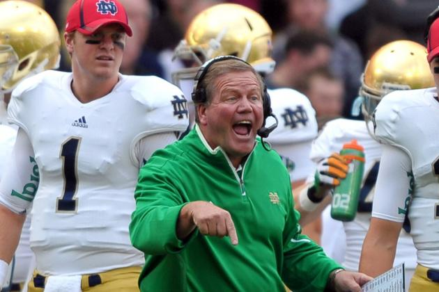 Notre Dame Football: For Irish, Purdue Is a Stepping Stone