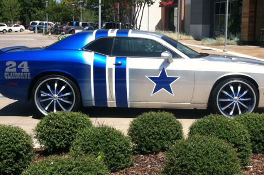 Dallas Cowboys' Rookie Morris Claiborne Bought Parents Sweet Tricked-Out Ride