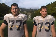 Rigsbee Brothers Starting Togther at Cal
