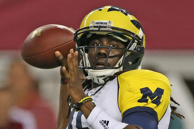 Michigan vs. Air Force May Be Bigger for Denard Robinson Than Wolverines