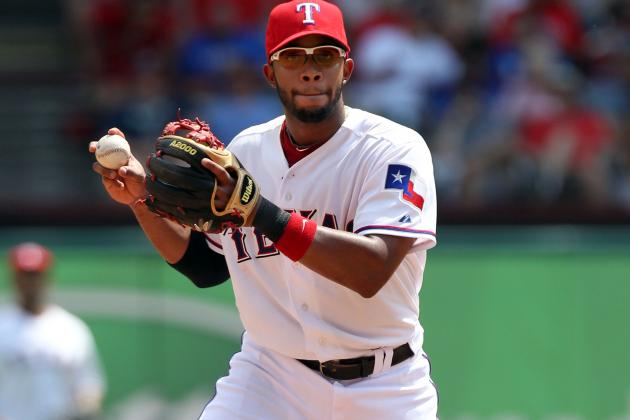 Lineups: Elvis Andrus rests, Josh Hamilton at DH