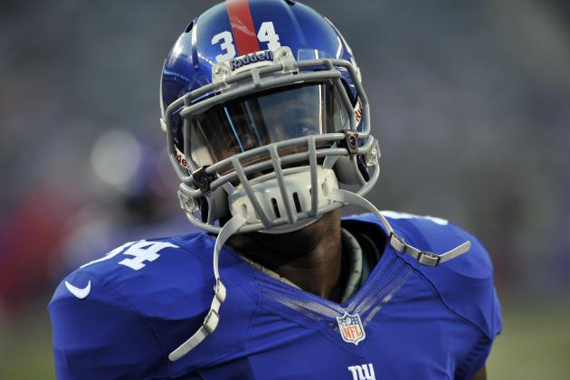 David Wilson: Giants Rookie RB Must Overcome Fumbling Issues to Be Fantasy Asset